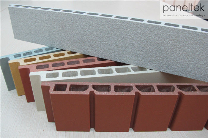 Exterior Wall Coating Architectural Cladding Systems With 18mm / 20mm Thickness