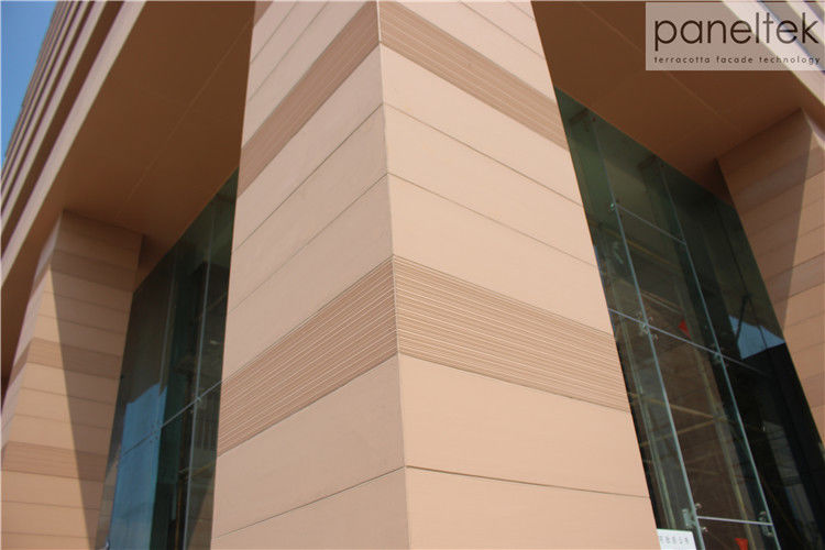 CE ISO Building Facade Terracotta Panels External Wall Cladding Material